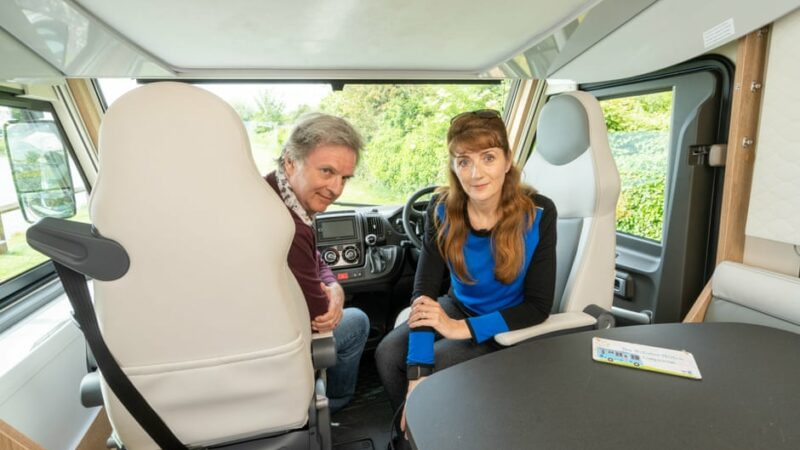 'Constantly stunning and invigorating' – Paul Merton and Suki Webster on campervan touring
