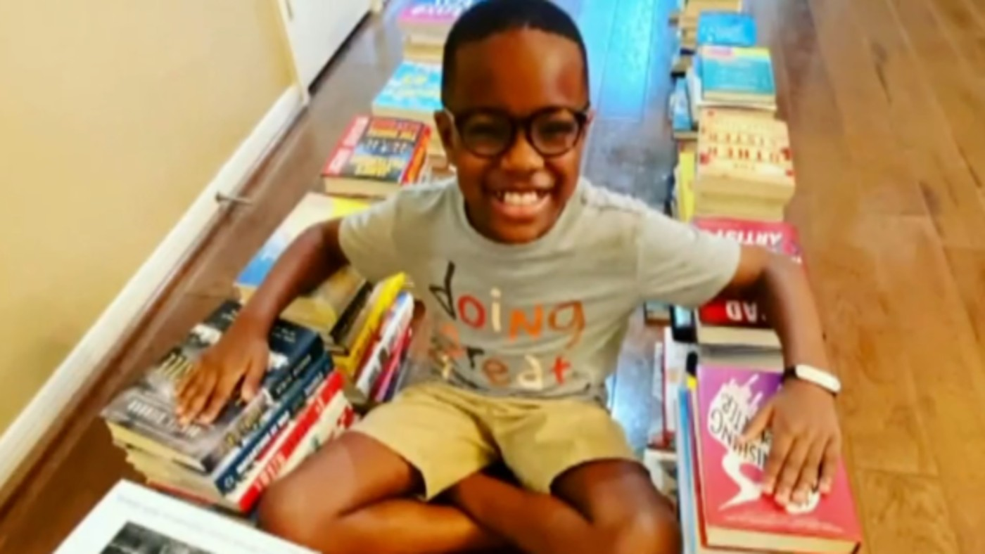 Remarkable 10-Year-old Inspires the World to Donate Half a Million Books For Kids: 'A Catalyst' For Kindness